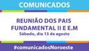 REUNIÃO DOS PAIS FUNDAMENTAL II E ENSINO MÉDIO
