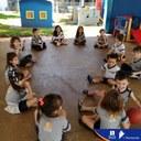 Aula do nosso projeto Bilíngue: Pré II A - Manhã - Revisando os nomes dos materiais escolares