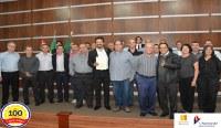Câmara Municipal de Birigui homenageia o INB pelos seus 100 anos