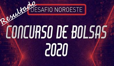 CLASSIFICAÇÃO DO DESAFIO NOROESTE CONCURSO DE BOLSAS