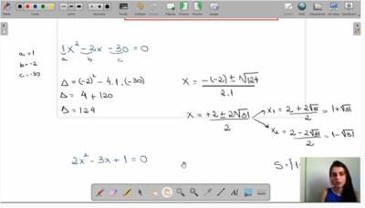 Videoaula de Matemática para o 9º ano reforça conteúdo que é pré-requisito para o Ensino Médio